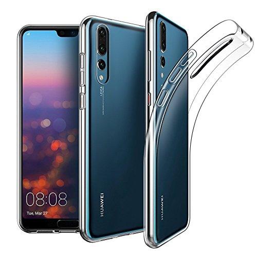 CoverKingz Handyhülle für Huawei P20 Pro - Silikon Handy Hülle P20 Pro - Soft Case Slim Cover Transparent