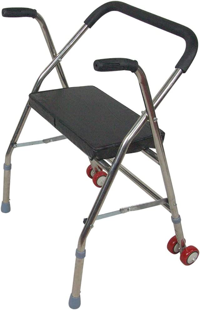 JINBAO Walker for The Popular products Elderly Wheels 2 Foldable Super sale with and