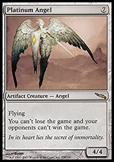 Magic: the Gathering - Platinum Angel - Mirrodin - Foil