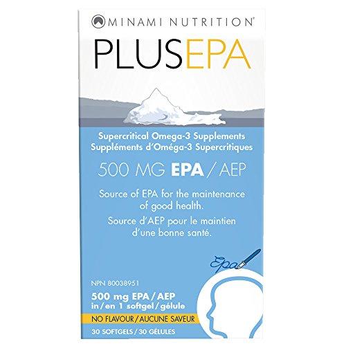 Minami Nutrition Plus EPA 500MG EPA 30 cápsulas blandas 30 g