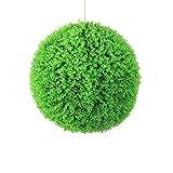 Bolas de Topiario de Plantas Artificiales,bola de Boj Artificial Para Interiores y Exteriores,puede Colgar Bolas de Plantas Artificiales de Boj,utilizada Para la Decoración al Aire Libre de Banquete