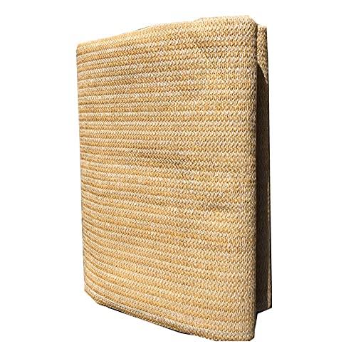 XJJUN Sonnenschutzstoff, Wärmedämmung Sonnenschutz, Filterlicht, Atmungsaktives Gewebe, Für Sonnenräume, Dächer, Carports (Color : Beige, Size : 1x1.8m)