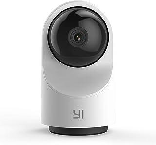 YI Telecamera Wi-Fi Interno 1080p Dome X,Telecamera Sorveglianza Ip Camera Wifi Smart Videocamera di Sicurezza Full HD 360...