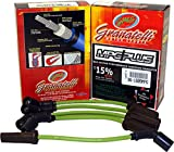 Granatelli Motorsports 36-1952MPG MPG Spark Plug Wires 0 Ohm Resistance Silicone Boots 8 mm. Jacket Fiberglass-Reinforced Braid MPG Spark Plug Wires