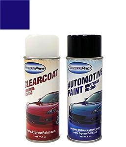 ColorRite Aerosol Acura RL Automotive Touch Up Paint Indigo Blue - Acura touch up paint