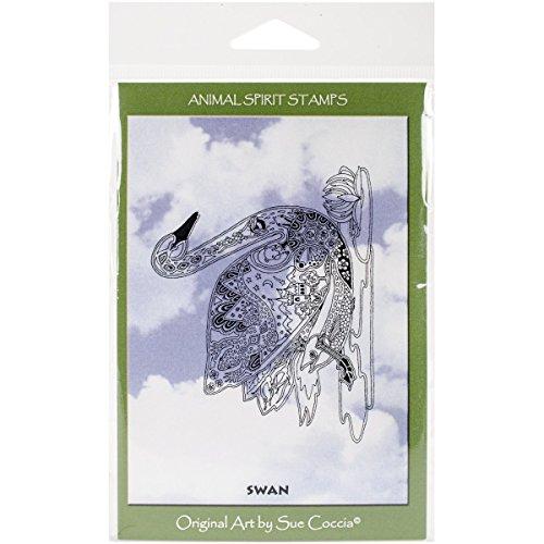 Earthart International Animal Spirit Cling Stamp - Swan