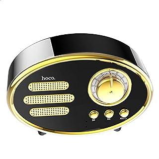 Hoco BS25 Time Retro Portable Wireless Speaker - Black