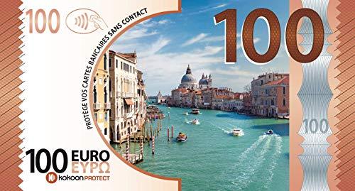 Kokoon Banknote, banconota che protegge le tue carte di credito, immagine Italia