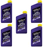 Royal Purple 11487 Break-In Engine Oil 10W-30 for Performance Engines w/Flat Tappet Camshafts and Lifters - 1 qt (Case of 5)