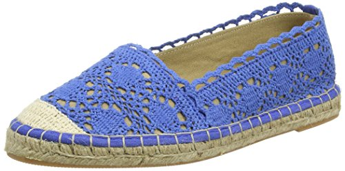 Buffalo Shoes Damen 327675 Cotton Espadrilles, Blau (Blue), 40