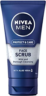 Nivea men - Exfoliante facial pack de 3 (3x 75 ml)