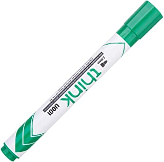 Deli EU00150 Bullet Tip Dry Erase Whiteboard Marker, Green