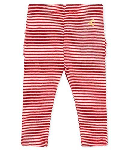 Petit Bateau Beaucoup Leggings, Multicolore (Terkuit/Marshmallow 02), Nouveau-né (Taille Fabricant: 3 Mois) Bébé Fille