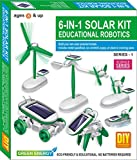 Toy Cloud 6 in 1 Solar KIT Educational Robotics Series-1 | Do-it-Yourself Science Series – 8 Years Above
