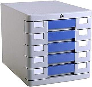 Module de rangement Armoires fichier Accueil Armoire Filer 5 tiroirs avec dépôt de Dossier en Plastique de Verrouillage Ca...
