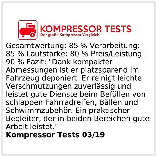 Lescars 12V Staubsauger mit Kompressor - 4