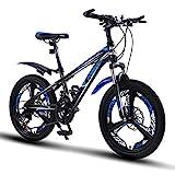 FUFU 20 Pollici Ragazzi e Ragazze Bikes, a velocità variabile Mountain Kids Bike, Bicicletta Sport all'Aria Aperta for 9-14 Anni Bambini (Color : D)