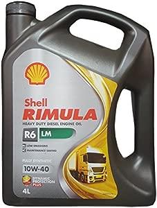 Shell Rimula R6-LM 10W-40 nbsp Engine Oil  4 nbsp Litres