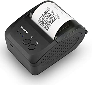 NETUM Wireless Bluetooth Receipt Thermal Printer, Portable Personal Bill Printer 2 Inches 58mm Mini USB POS Printer for Restaurant Sales Retail Compatible with Android/iOS/PC/Windows/Linux