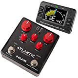 NUX Atlantic Multi Delay and Reverb Effect Pedal + MT-41 Rechargeable Chromatic...