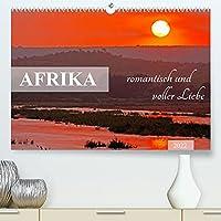 AFRIKA romantisch und voller Liebe (Premium, hochwertiger DIN A2 Wandkalender 2022, Kunstdruck in Hochglanz): Bezauberndes Licht, liebevolle Tiere (Monatskalender, 14 Seiten )