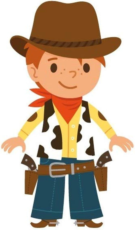 Esperando por ti Adhesivo Adhesivo Adhesivo Niño  Cowboy pistolas, 96 x 166 cm  lo último