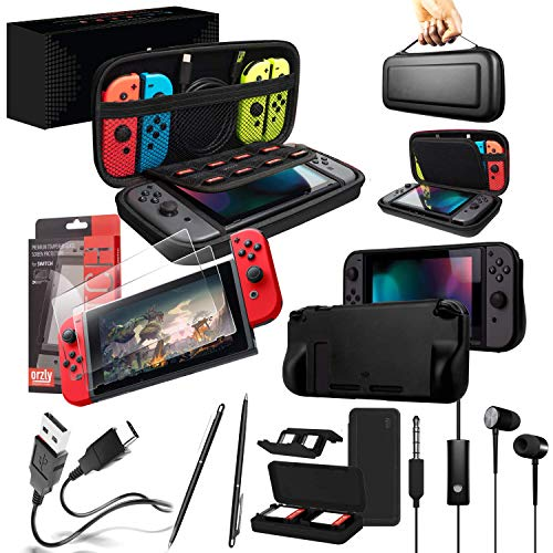 Orzly Pack Esencial Accesorios para Nintendo Switch Incluye