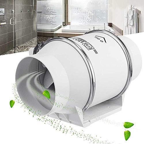 Haushaltsventilator 4-Zoll-Ventilator, Impeller-Runde Leistungsstarke Mute Geeignet for Badezimmer/Küche/Wohnzimmer LITING