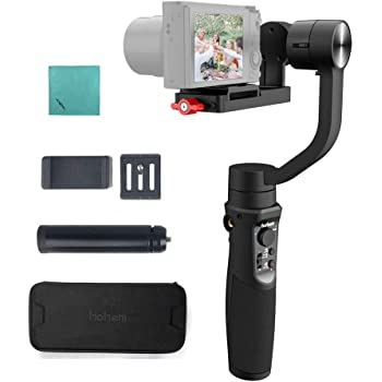 Hohem iSteady Multi 3-Axis Handheld Gimbal Stabilizer Compatible with Sony RX100 Series Compatible with Canon G Series Compatible with GoPro Hero 7//6//5 SJCAM YI CAM iPhone Samgsun Smartphone