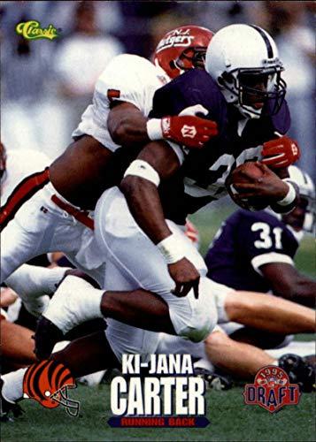 Football NFL 1995 Classic NFL Rookies #1 Ki-Jana Carter #1 EX Bengals