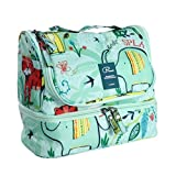 Haotfire Portable Hanging Travel Toiletry Bag Waterproof Makeup Organizer Cosmetic Bag Pouch For Women Girl