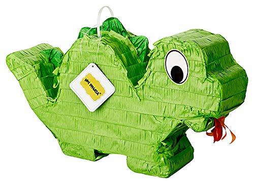 Dino Drachen Pinata zum Befüllen mit Süßigkeiten (klein)- perfekt für den Kindergeburtstag, als Geschenkidee oder als Hochzeitsspiel
