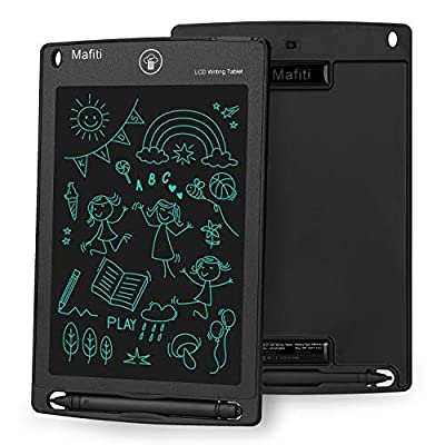 mafiti LCD Writing Tablet Electronic Writing Drawing Pads Portable Doodle Board Black