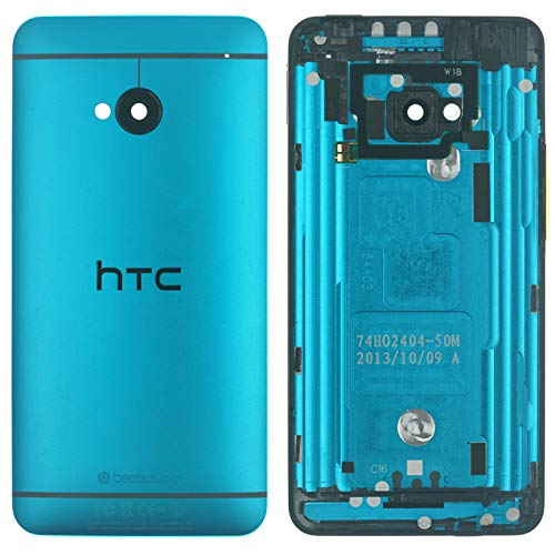 HTC ONE M7 Backcover Cover Gehäuse Akkudeckel, Hell Blau