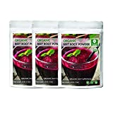 Organic Beet Root Powder (5 lbs - 5 Pack of 1 Pound Each) , Raw & Non-GMO | Nitric Oxide Booster | Boost Stamina and Increases Energy [Packaging May Vary]