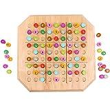 Skxinn Kinderpuzzle, Puzzle für Kinder, Lernspielzeug Spiel für Kinder 3 4 5 6 Jahren Alt(B,1Pcs)