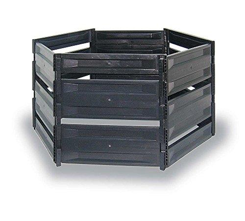 myGardenlust Komposter - Composter für Garten-Abfälle - Schnellkomposter aus Kunststoff - Kompostierer stabil und hochwertig - Thermokomposter als praktisches Stecksystem 700 L