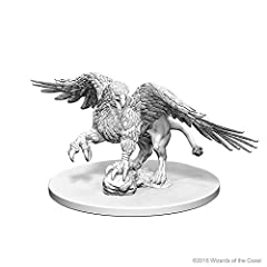 One, unpainted Griffon miniature Primed and ready to paint All Dungeons & Dragons Nolzurs Marvelous Miniatures work with the D&D role-playing game