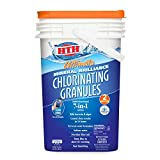 HTH 22009 Ultimate Mineral Brilliance Chlorinating Granules for Swimming Pools, 50 lbs