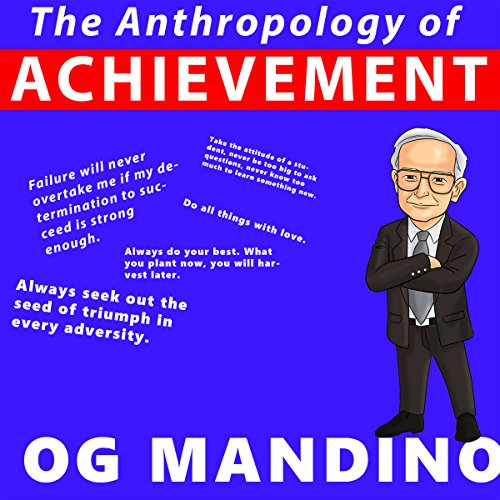 The Anthropology of Achievement audiobook cover art