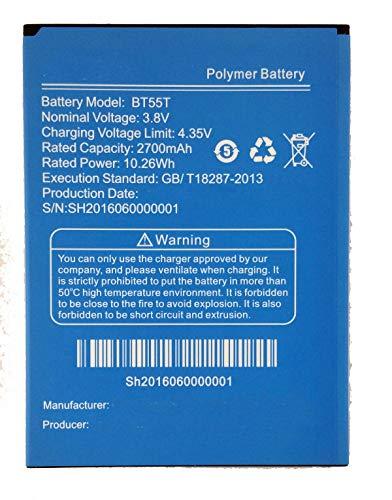 Bateria compatible con ZOPO ZP998 / ZP999 / ZP9520 /ZP3X/ X3 | 2400mAh | BT55S / BT55T