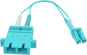 Best sc female to lc male multimode duplex adapter converter Reviews
