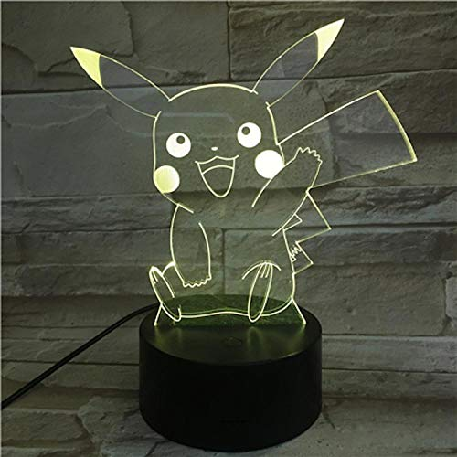 Cute Card Card Night Light 3D Sleep Light Led Flash Remote Control USB Power Supply Suitable for Room Decoration Send Children