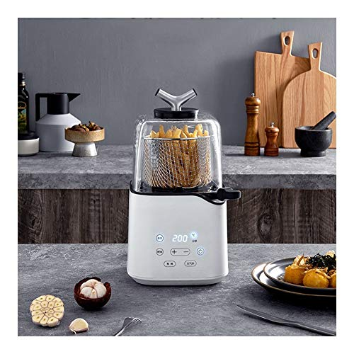 Air Fryer Portable, 820W d'air sans huile Fryer, déshydrateur, électrique Air Fryer, avec poignée anti-brûlure, for la santé de l'huile libre et faible teneur en gras de cuisson