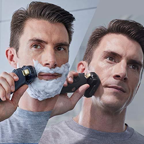 Panasonic Electric Razor for Men | Electric Shaver ARC5 |Wet Dry Shaver Men | Cordless Razor | Shaver with Pop-Up Trimmer|16-D Flexible Pivoting Head & Intelligent Shaving Sensor ES-LV67-K, Black