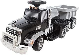 Wonderlanes 6V Deluxe Ride on Mack Truck with Trailer