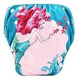 QinMMROPA Pañales de natación para bebés niño niña, bañador Bebe de Piscina Trajes de baño bañadores Bebes Infantil Pañales E 0-3 años