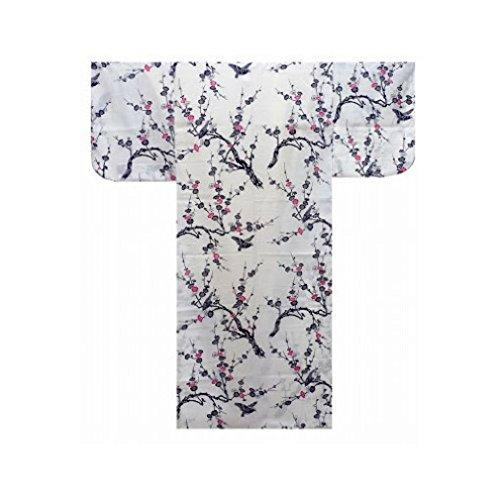 Yukata Autenticos Samurai/Frescos y Atractivos Kimono- Ciruela #943