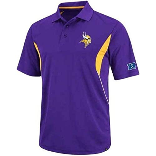5bc87db2c Minnesota Vikings NFL Mens Field Classic Dri Fit Polo Shirt Big   Tall Sizes