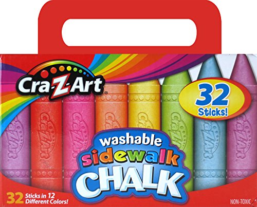 CraZArt Sidewalk Chalk 32 Count